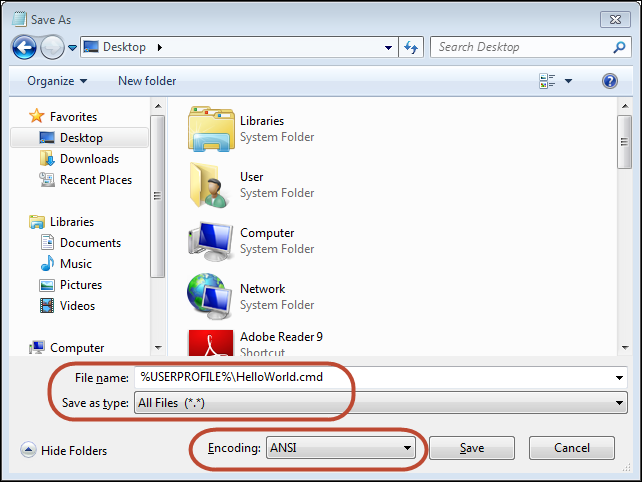 how to make a batch file in windows 10