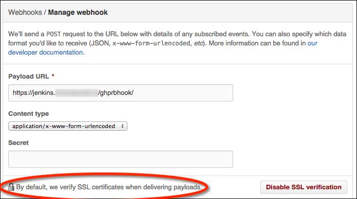 Troubleshooting GitHub WebHooks SSL Verification - /* steve jansen */